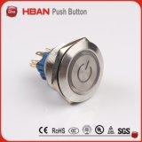 Анти- переключатель кнопка металла вандала (30mm)