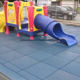 Parque infantil de Goma de seguridad de los Azulejos, colorido y la seguridad alfombrillas de goma para la aplicación de exteriores