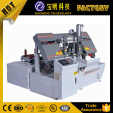 CNC 이용된 금속을%s 자동적인 수평한 금속 밴드 Sawing 기계