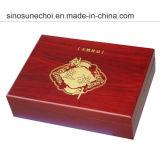Подгонянная высоким качеством коробка Woodden сосенки для подарка