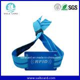 궤도 필드 공원 승진 선물을%s RFID에 의하여 길쌈되는 직물 팔찌
