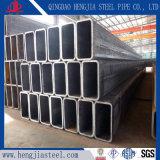 Tubo de acero rectangular galvanizado sumergido caliente hueco del acero de carbón