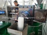 Máquina plástica de la pelotilla de los desechos duros materiales del PE de los PP