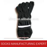 Reine Baumwolle der Zehe-Socken für Sport