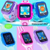 Het waterdichte Sos GPS van Jonge geitjes Slimme Horloge van de Drijver voor Giften D27