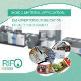 Impressão a cores brilhante, Papéis de impressão para impressora HP Indigo a máquina