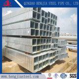 Китай производитель оцинкованного скрытых полостей квадратная стальная труба с высоким качеством