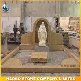 Wundersame Steinstatue die Jungfrau- Mariaskulptur
