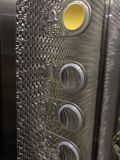 ミラーのステンレス鋼または木製の合成の鋼板車が付いている乗客のエレベーター