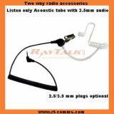 Le tube acoustique Wakie walkie écouteur pour radios à deux voies