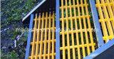 Bitola da escada de PRFV antiderrapagem com painel de malha rectangular