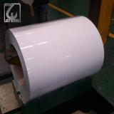 Belüftung-Beschichtung weg von der weißen vorgestrichenen Farbe beschichtete Stahlring für Walzen-Tür