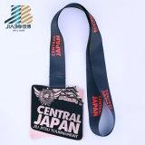 Médaille en bronze en alliage de zinc de récompense de judo de Duman d'émail fait sur commande pour le Japon