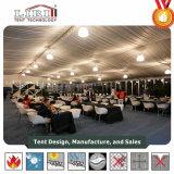 Tent van het Dek van de koepel de Dubbele, de Tent van Twee Vloer voor Pop-up Restaurant