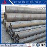 Tubo d'acciaio della saldatura ad arco sommersa di spirale del tubo d'acciaio di SSAW
