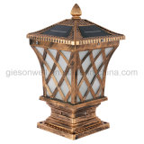 Proveedor chino de alta calidad LED pilar de la luz de exterior Lámpara de jardín