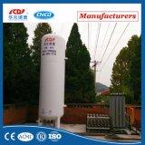 Tanque de armazenamento vertical do líquido criogênico de aço inoxidável