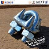 La gota forjó el Pin del color nosotros las abrazaderas de cuerda de alambre de China
