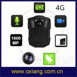1080P GPS WiFi Btのセンター・コントロールのリアルタイムのビデオ3G/4G警察ボディカメラ中国製