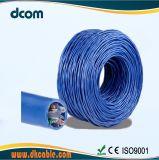 Más de 10 años de la ECP Fabricante de cable LAN cable UTP CAT6 23AWG 4 pares de cables LAN con precio competitivo