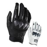 Белая модная Wear-Proof перчатка для участвовать в гонке мотора (MAG69)