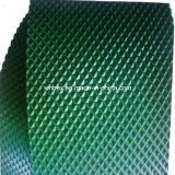 PVC 녹색 높은 마찰 다이아몬드 산업 또는 산업 컨베이어 벨트