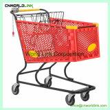 180L com pega carrinho de compras de supermercado Carrinho móvel