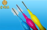 Nouveau type de petite brosse dentaire passent à travers le trou de 0,7 mm brosse interdentaire