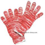 Смешайте цветной хлопок трикотажные рабочие перчатки