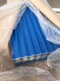 Померанцовый Corrugated тип плитка цвета PPGI стальная для листа крыши