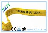 Courroie de levage de polyester de la bonne qualité 2017 avec le certificat de la CE