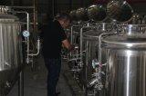ホーム醸造ビール沸騰のやかんのマッシュのウワートの大酒樽