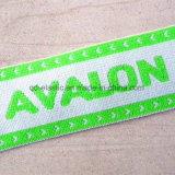カスタムロゴの柔らかい編まれたジャカード識別IDのゴム