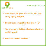 円形または60cm UL SMD 2835 LEDのパネル照明を平方しなさい