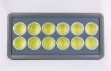 Luz al aire libre de la luz de inundación del LED 600W LED para el jardín