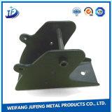 Métal personnalisé de précision estampant le fer de bride d'étagère avec l'étirage profond