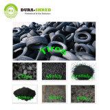 Dura-Shred utilisé en poudre en caoutchouc de la machine de recyclage des pneus