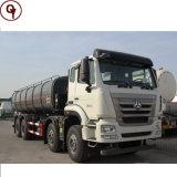 중국 Sinotruk HOWO 청소 하수 오물 흡입 유조 트럭