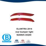 Bouclier arrière lumière Hyundai Elantra 2014
