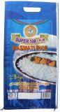 Película de BOPP laminado Bolsa tejida de polipropileno para arroz de la bolsa de arroz de embalaje