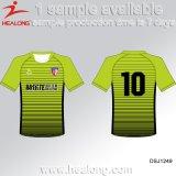 Healong 판매를 위한 축구 셔츠를 인쇄하는 신선한 디자인 운동복 열 Transfet