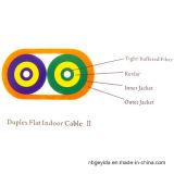 Duplex Vlakke Binnen Optische Kabel