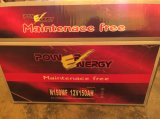 N150mf 12V150ah Lead Acid Maintenance Free Battery Truck