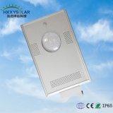 indicatore luminoso di via solare tutto compreso Integrated del giardino di 10W-100W LED con Ce, certificazioni di RoHS