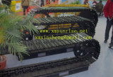 Equipamento Pesado de aço do Material Rodante Peças bulldozer D85 / elástico da Sapata da Esteira