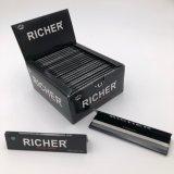 Un papel de balanceo ultra fino blanqueado más rico del cigarrillo del tabaco 13GSM