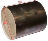 金属の蜜蜂の巣の基板の上塗を施してある触媒コンバーター