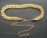 Fashion Rhinestone Crystal de la taille de la chaîne d'accessoires du vêtement de sangle de ceintures en métal