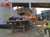 Trinciatrice gialla della biomassa del gambo del cereale