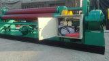 Máquina de dobrar de chapa metálica de 3 rolos Máquina de rolamento de placas simétricas mecânicas Máquina de dobra de placa elétrica de 3 rolos
